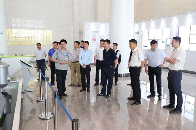Leaders of National Ministry of Industry and Information Come to Boqian New Materials for Investigation and Survey